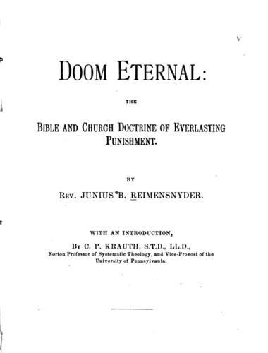 Doom Eternal, J.B. Remensnyder